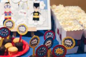 Superheroes Party 6